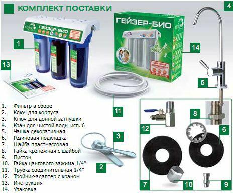 гейзер фильтры официальный сайт инструкция - фото 6